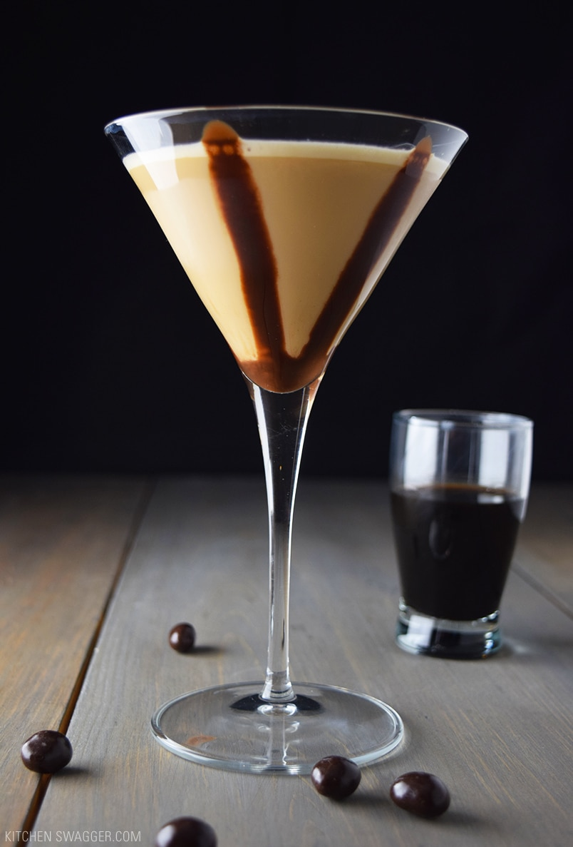 The best ever chocolate martini: 1 shot chocolate godiva, 1 shot white chocolate godiva, 1 shot creme DeCacoa, 1 shot vodka, and 3 shots milk or half n half. it is wonderful - I've ordered chocolate martinis at several different places but this recipe is top of the list/5(K).