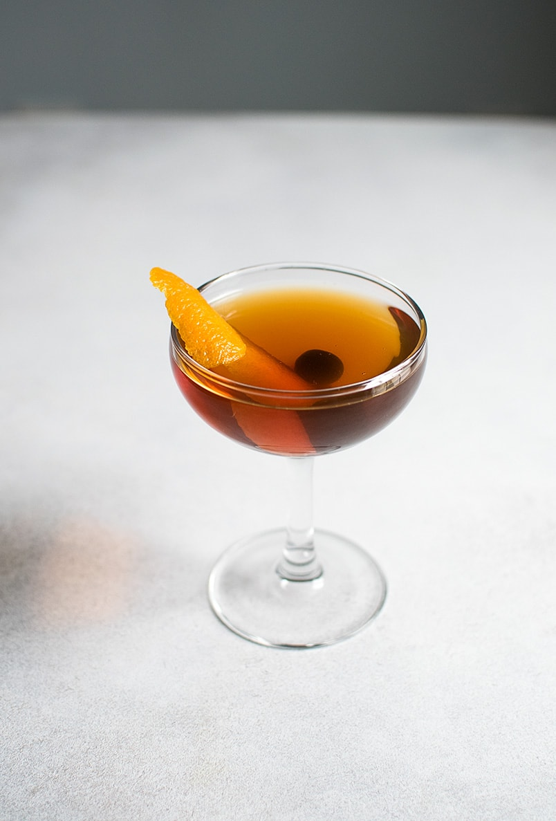 Perfect Manhattan Cocktail