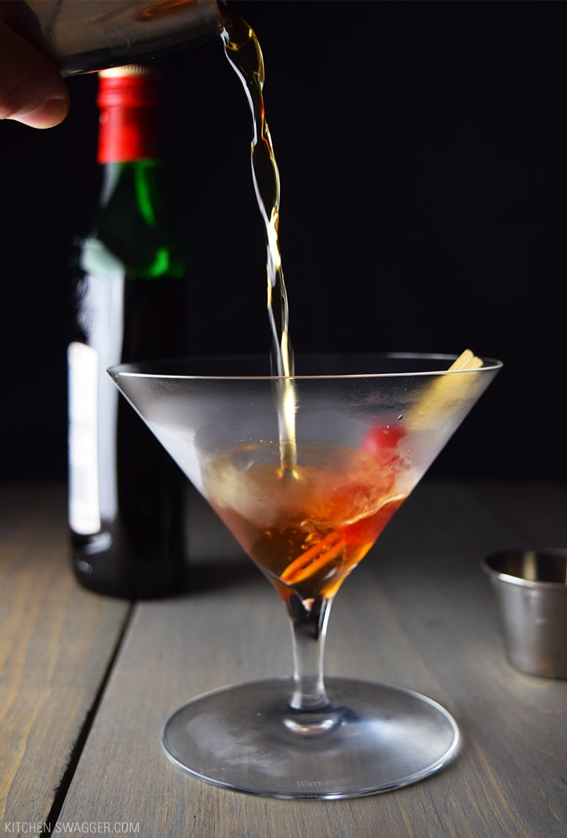 Perfect manhattan cocktail recipe kitchen swagger for Manhattan cocktail