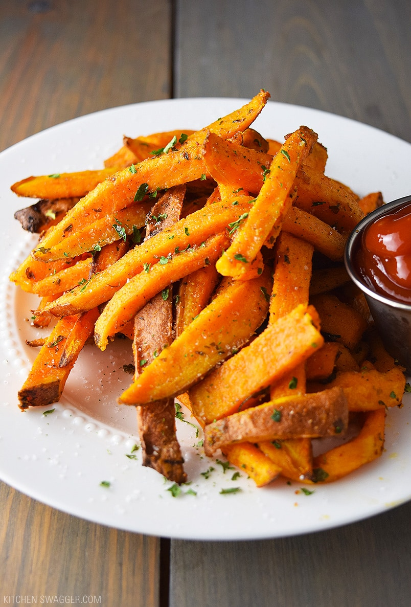 Baked Sweet Potato Fries Recipe