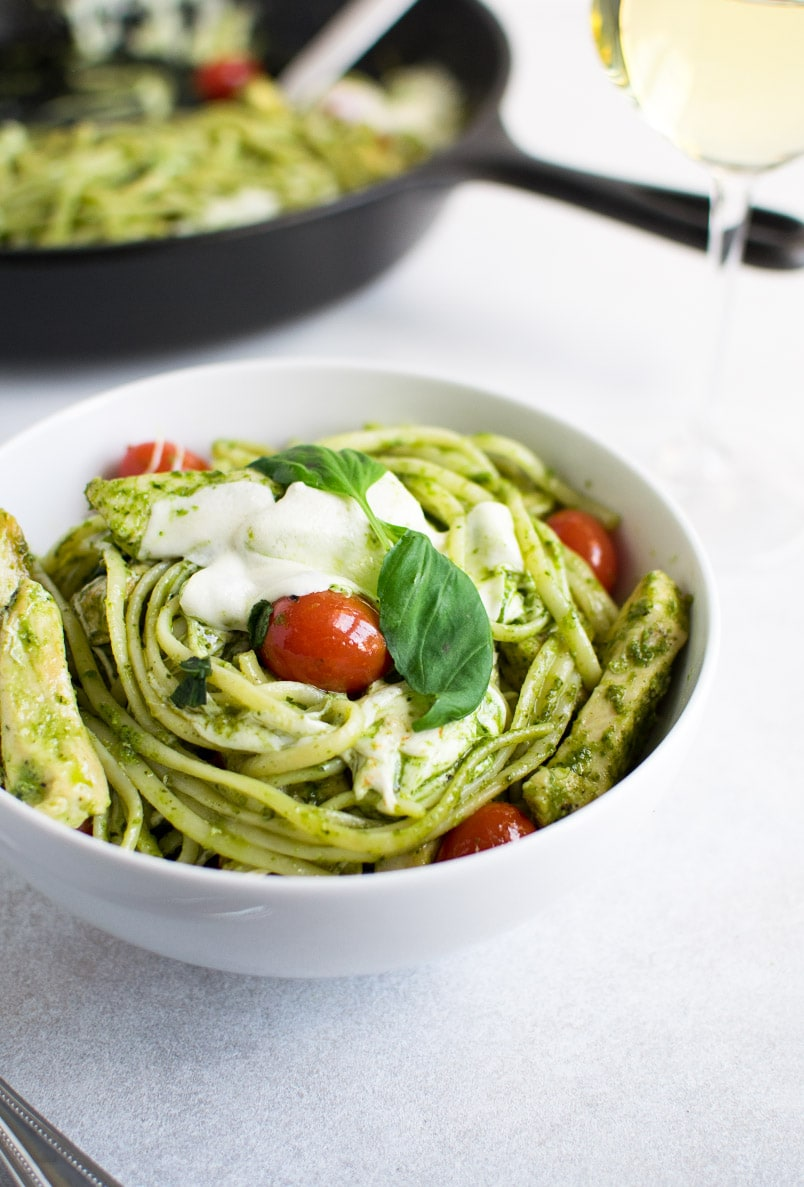 Pesto Pasta with Chicken Recipe