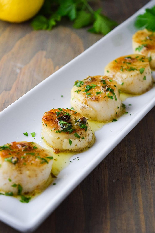 Pan Seared Scallops with Lemon Butter Recipe