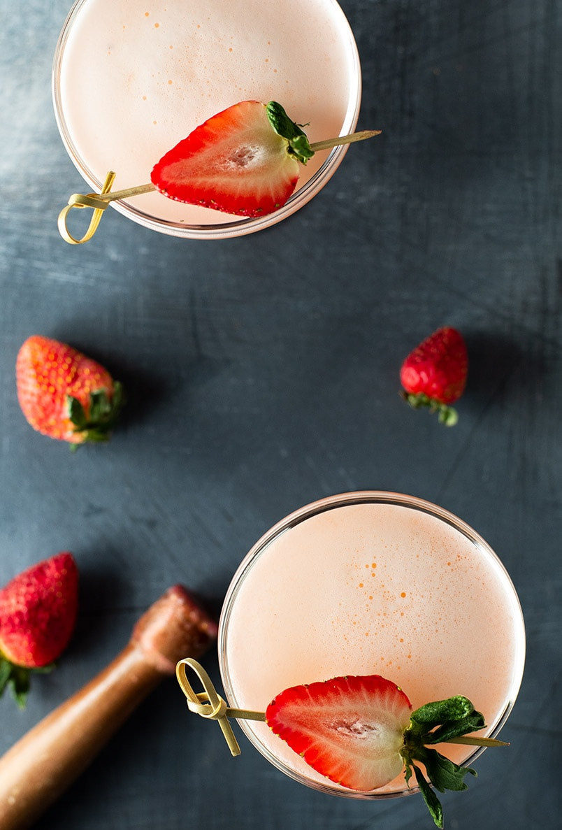Strawberry Cucumber Tequila Cocktail Recipe