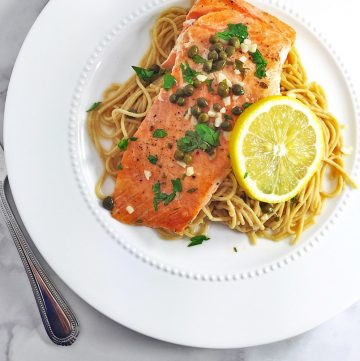 "<span class=""entry-title-primary"">Steelhead Trout Piccata Recipe</span> <span class=""entry-subtitle"">Delicious steelhead trout piccata recipe with flavorful and tangy piccata sauce.</span>"