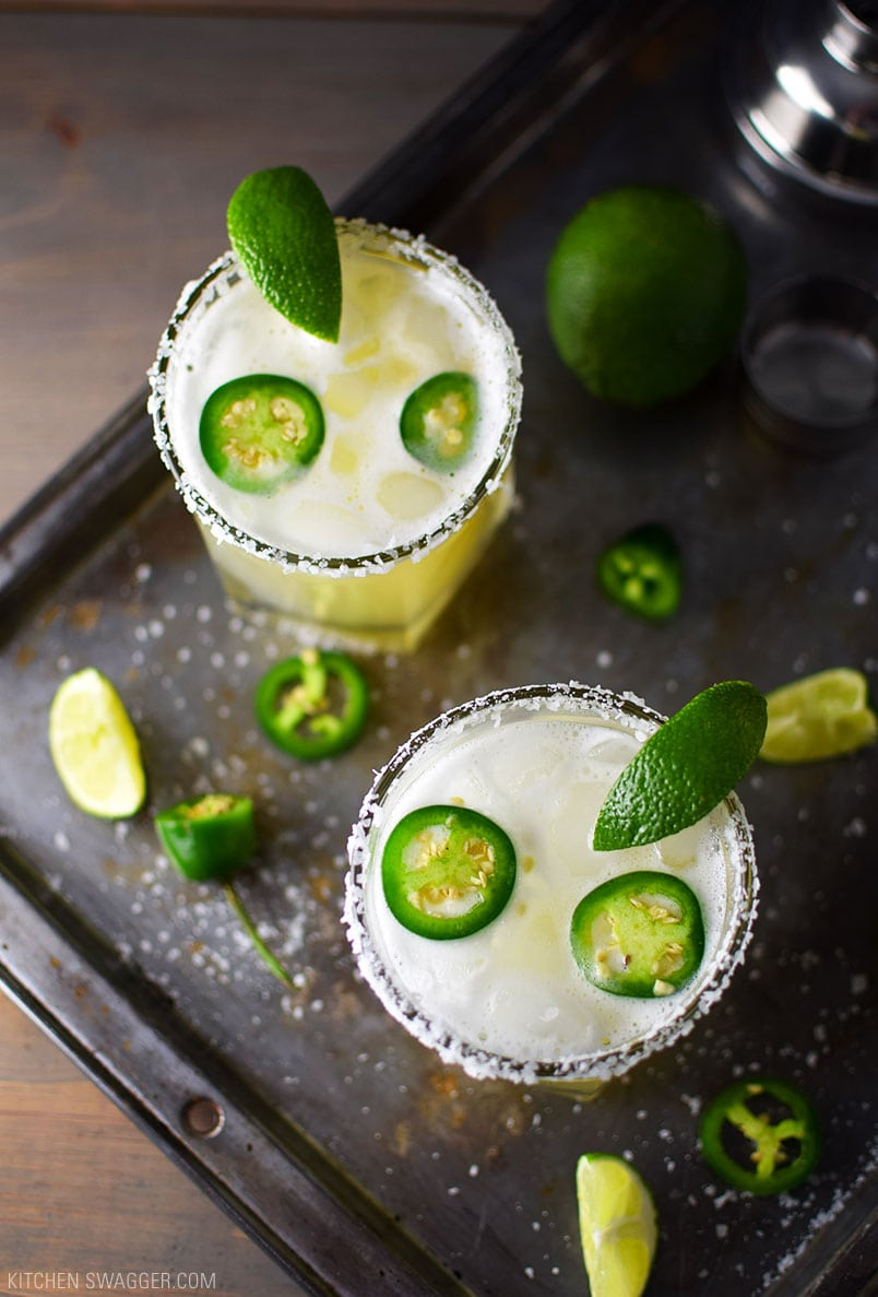 The Best Spicy Jalapeno Margarita Recipe