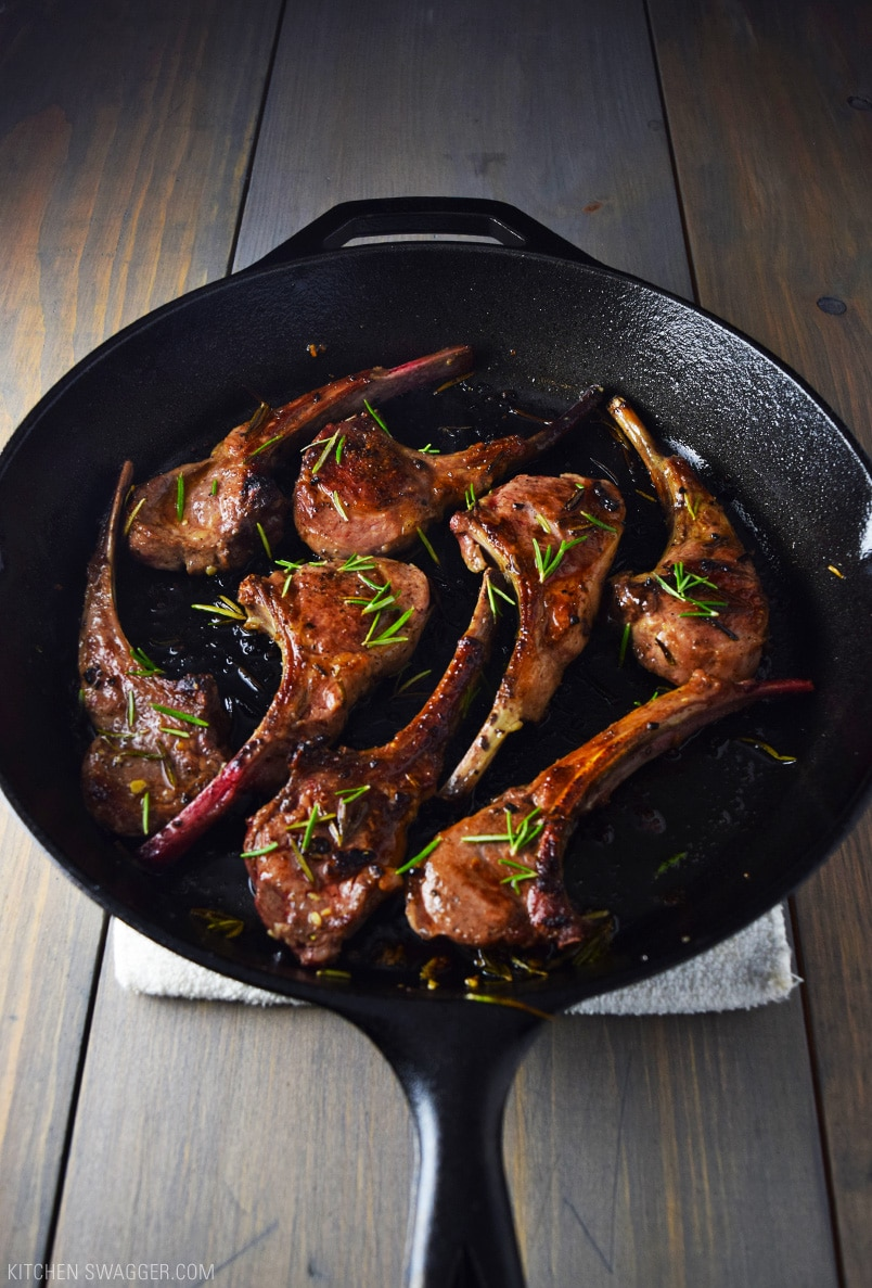 Lamb Lollipops With Garlic And Rosemary Recipe Kitchen Swagger