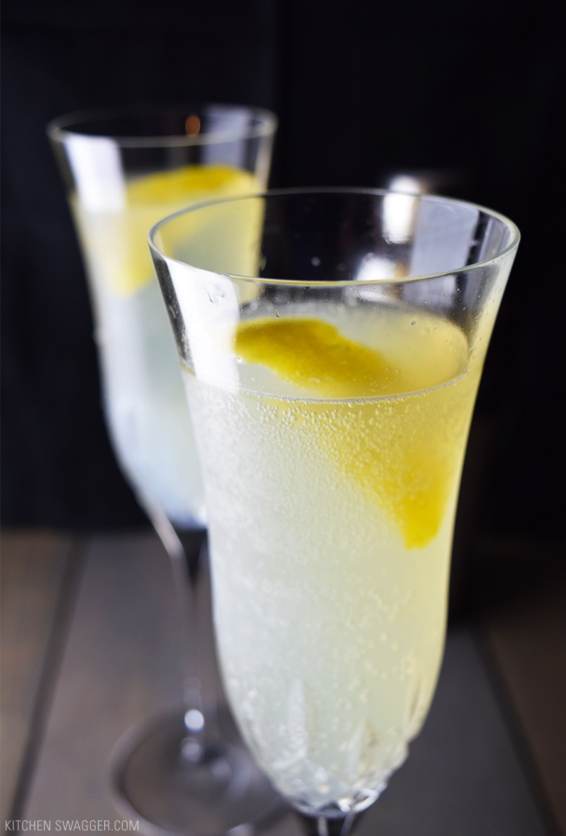 French 75 Recipe Kitchen Swagger