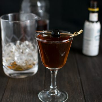 "<span class=""entry-title-primary"">Manhattan Cocktail Recipe</span> <span class=""entry-subtitle"">My favorite drink—perfectly constructed with bourbon, vermouth, and bitters.</span>"