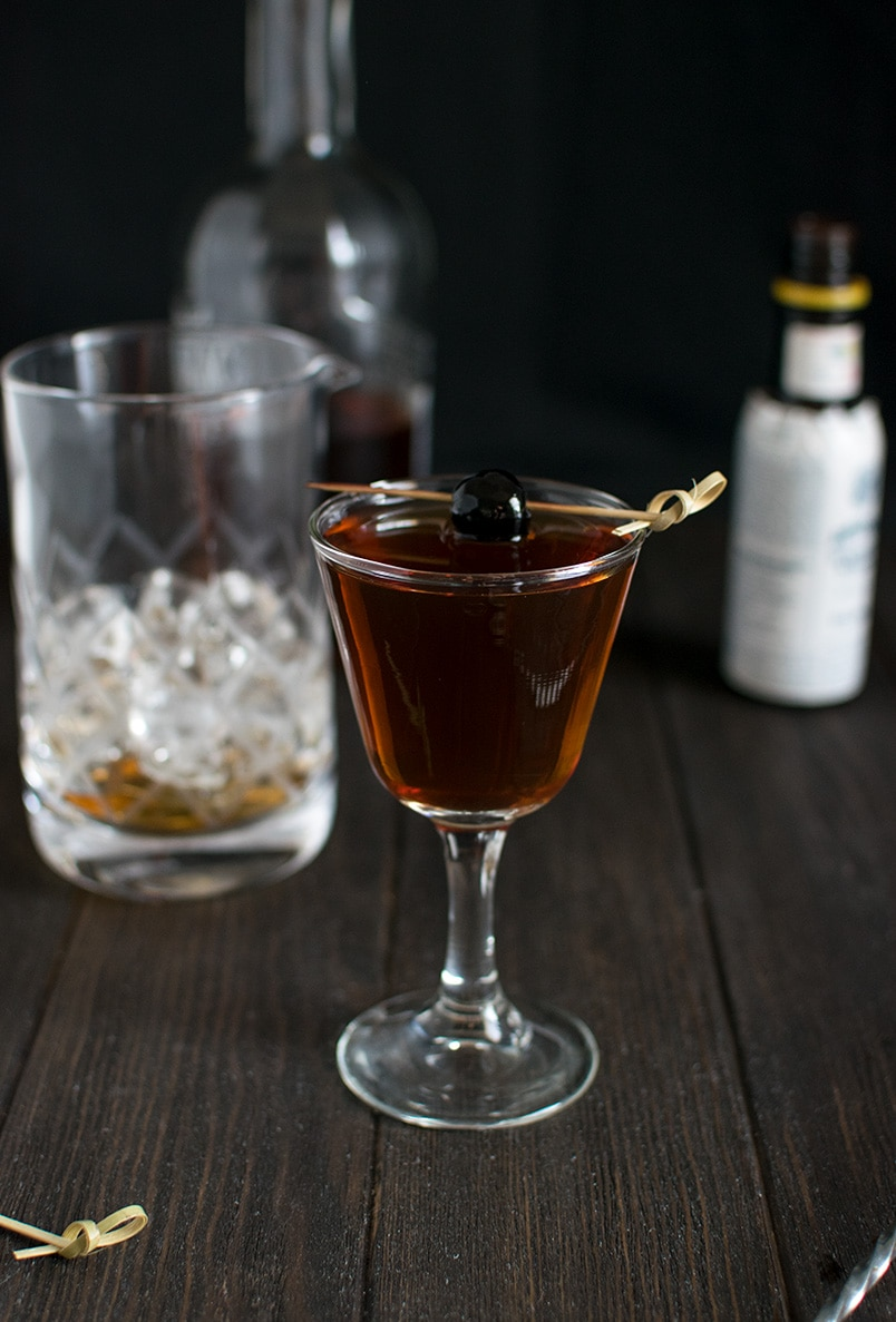 How to Make A Manhattan Cocktail