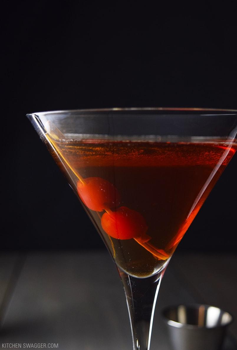 Manhattan cocktail recipe kitchen swagger for Manhattan cocktail