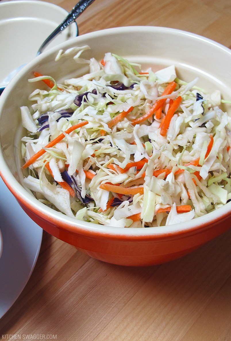 Easy Homemade Coleslaw Recipe