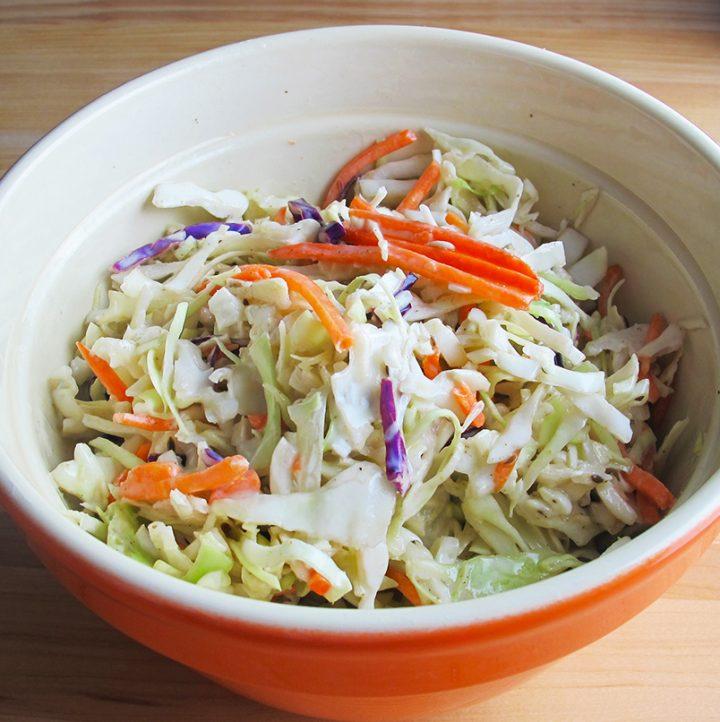 Easy Homemade Coleslaw Recipe