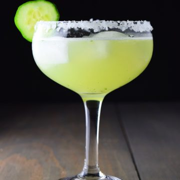 Cucumber Basil Margarita Recipe