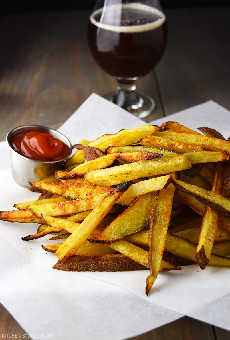 Baked craft beer fries recipe kitchen swagger baked craft beer fries recipe forumfinder Choice Image