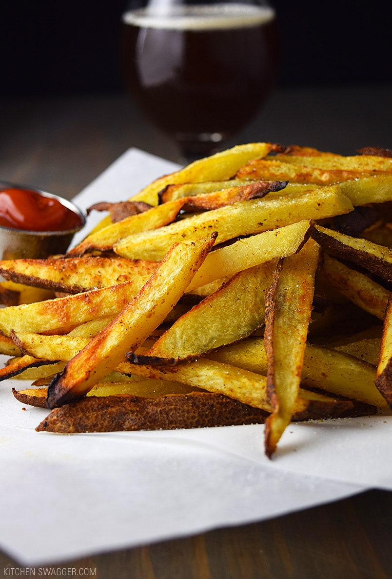 Baked Craft Beer Fries Recipe
