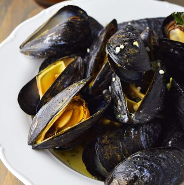 "<span class=""entry-title-primary"">Beer Steamed Mussels Recipe</span> <span class=""entry-subtitle"">Why steam mussels in wine when you can steam them in your favorite beer?</span>"