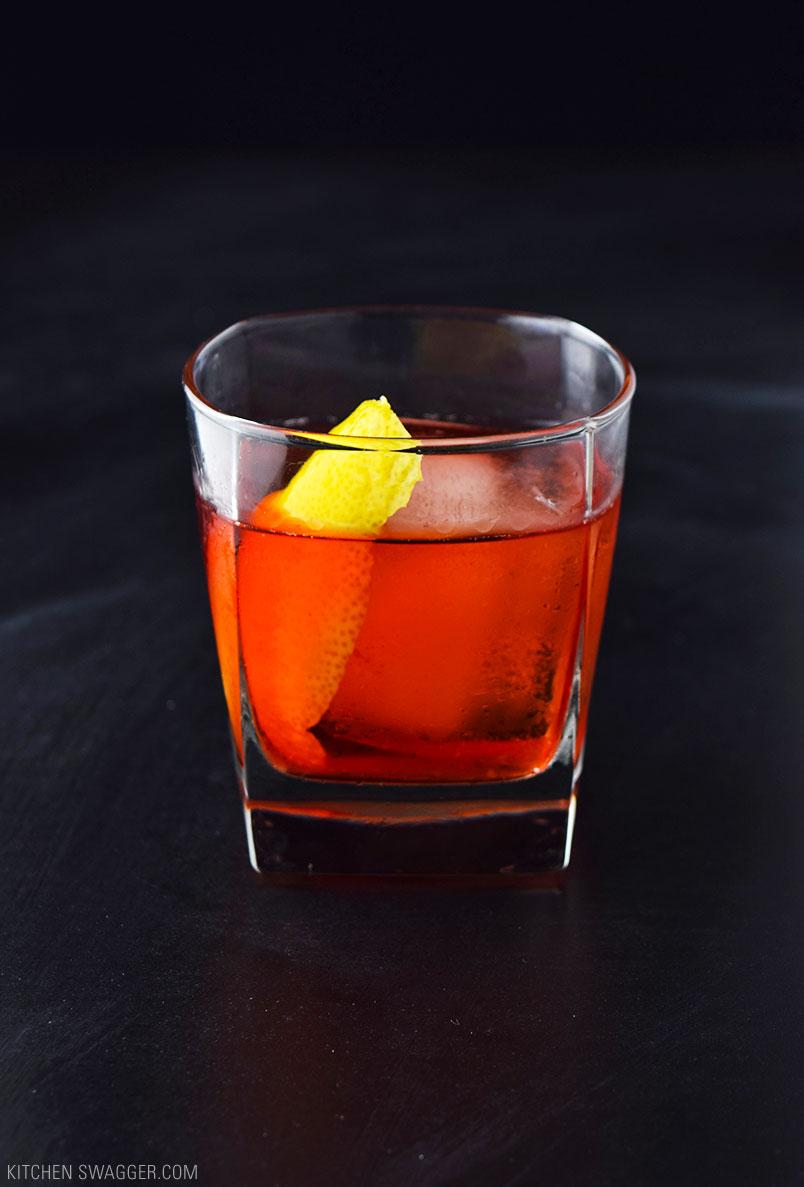 Boulevardier VSOP Cocktail Recipe