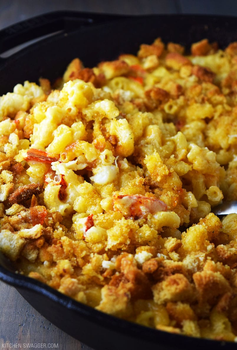 One Skillet Lobster Mac and Cheese Recipe