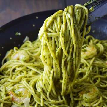 Pesto Shrimp Pasta Recipe