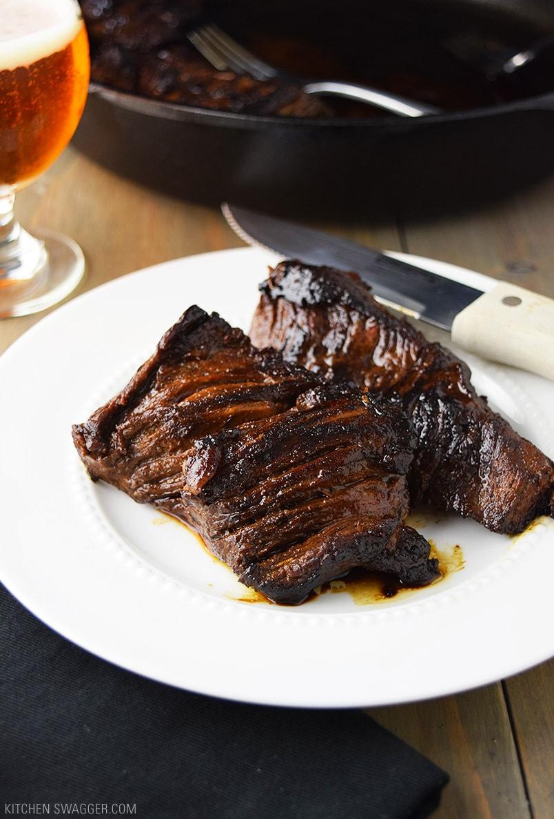 Marinated Steak Tips Recipe with Beer Teriyaki Marinade