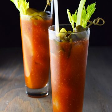 "<span class=""entry-title-primary"">Bloody Mary Recipe</span> <span class=""entry-subtitle"">Is there a better brunch cocktail than the bloody mary? This is an easy and delicious standard bloody mary recipe just waiting to be garnished.</span>"