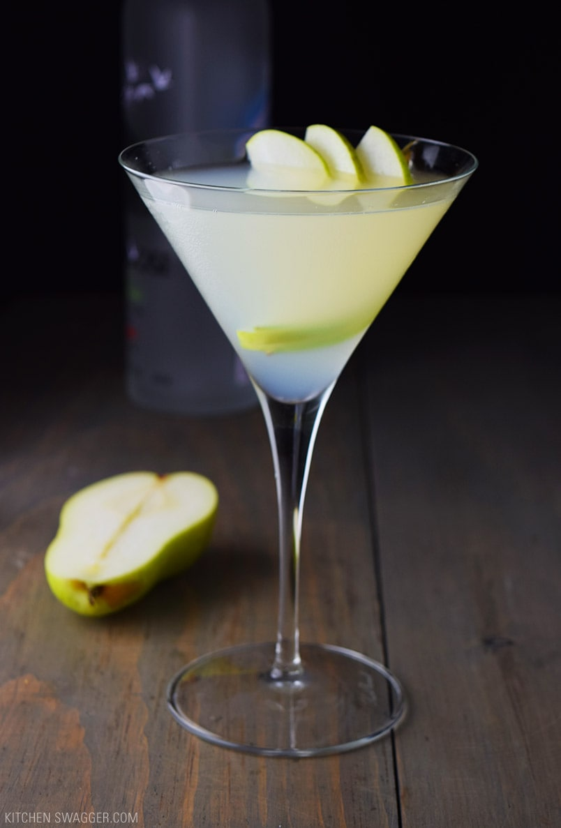 Pear and elderflower martini recipe kitchen swagger for Pear vodka mixed drinks
