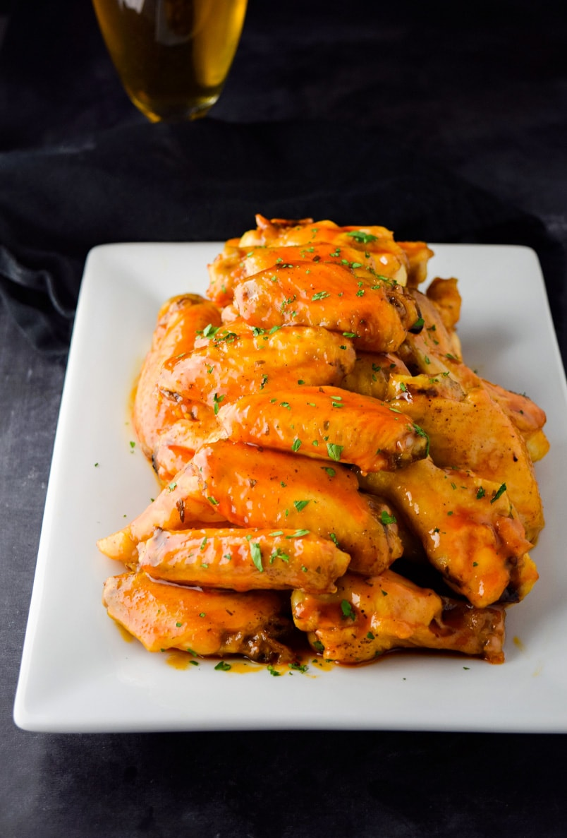 Baked Honey Buffalo Wings Recipe