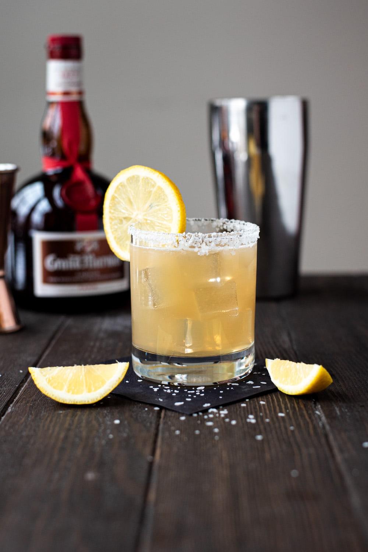 Honey Lemon & Grand Marnier Margarita Recipe