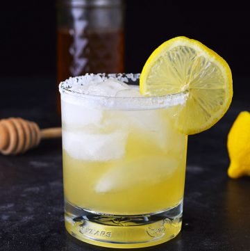 Honey Lemon Añejo Margarita Recipe