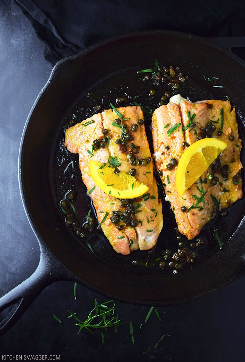 Steelhead Trout with Brown Butter Recipe