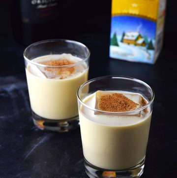 Eggnog Holiday Cocktail Recipe
