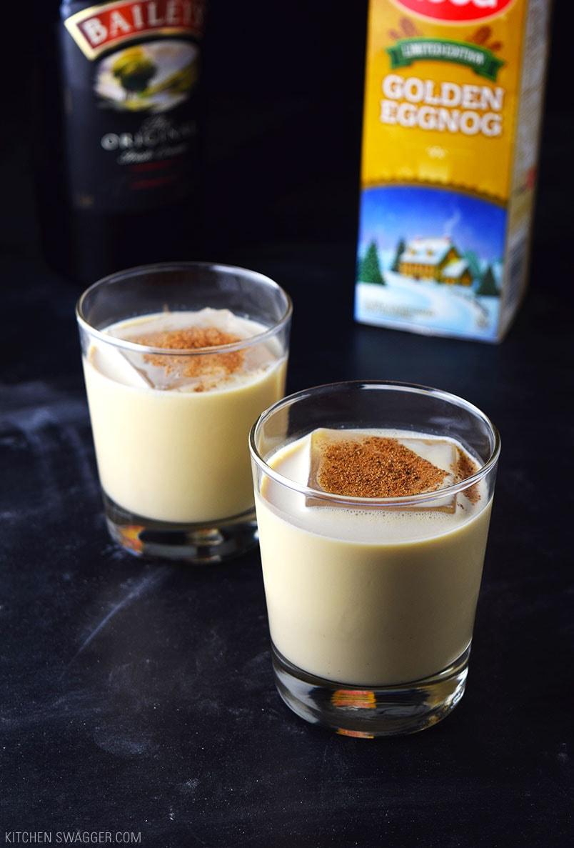 Eggnog Holiday Cocktail Recipe