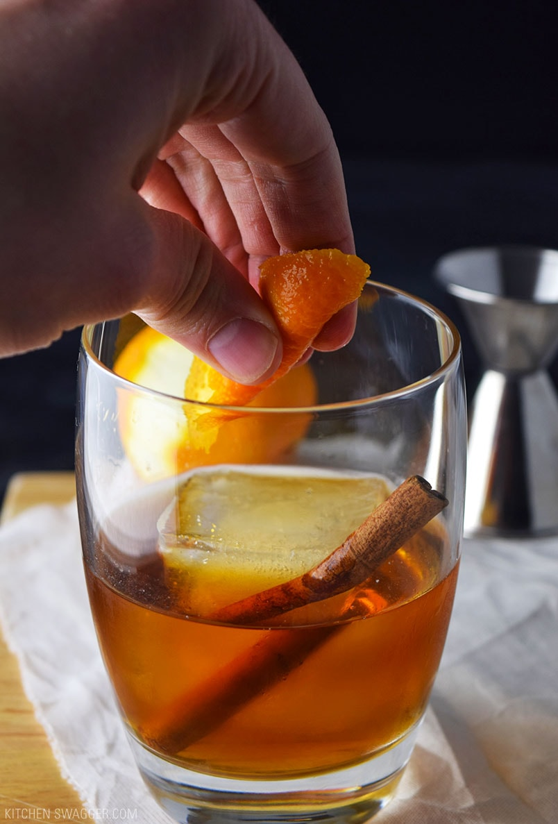 How To Make A Brandy Old Fashioned Sweet