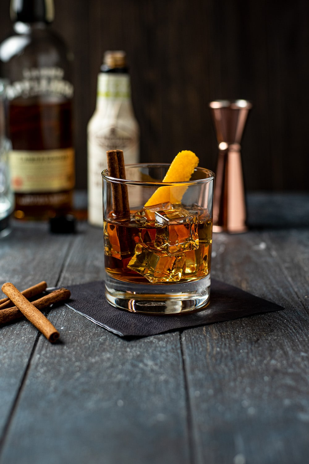 Applejack Fall Old Fashioned Cocktail Recipe