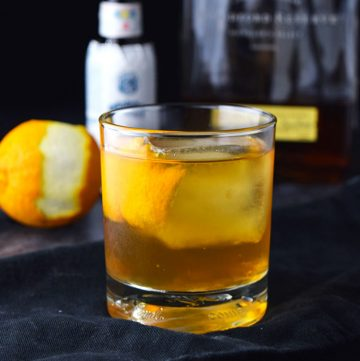 "<span class=""entry-title-primary"">Old Fashioned Cocktail Recipe</span> <span class=""entry-subtitle"">How to make the classic old fashioned cocktail the right way. Bourbon, bitters, simple syrup (sugar cube), and an orange peel.</span>"