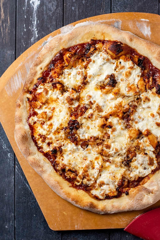 BBQ Chicken and Bacon Pizza Recipe