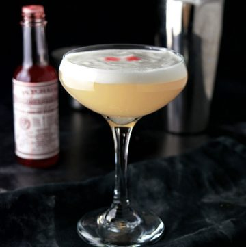 "<span class=""entry-title-primary"">Bohemian Cocktail with Elderflower Foam Recipe</span> <span class=""entry-subtitle"">A slight twist on a classic cocktail—gin, elderflower, and grapefruit with a foamy egg white head.</span>"
