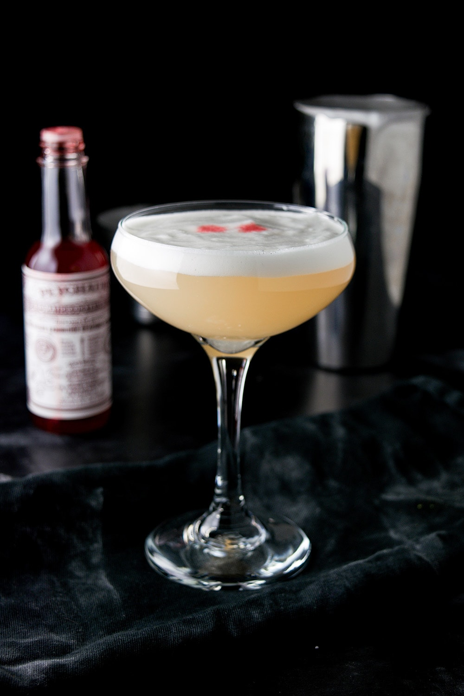 Bohemian Cocktail with Elderflower Foam Recipe