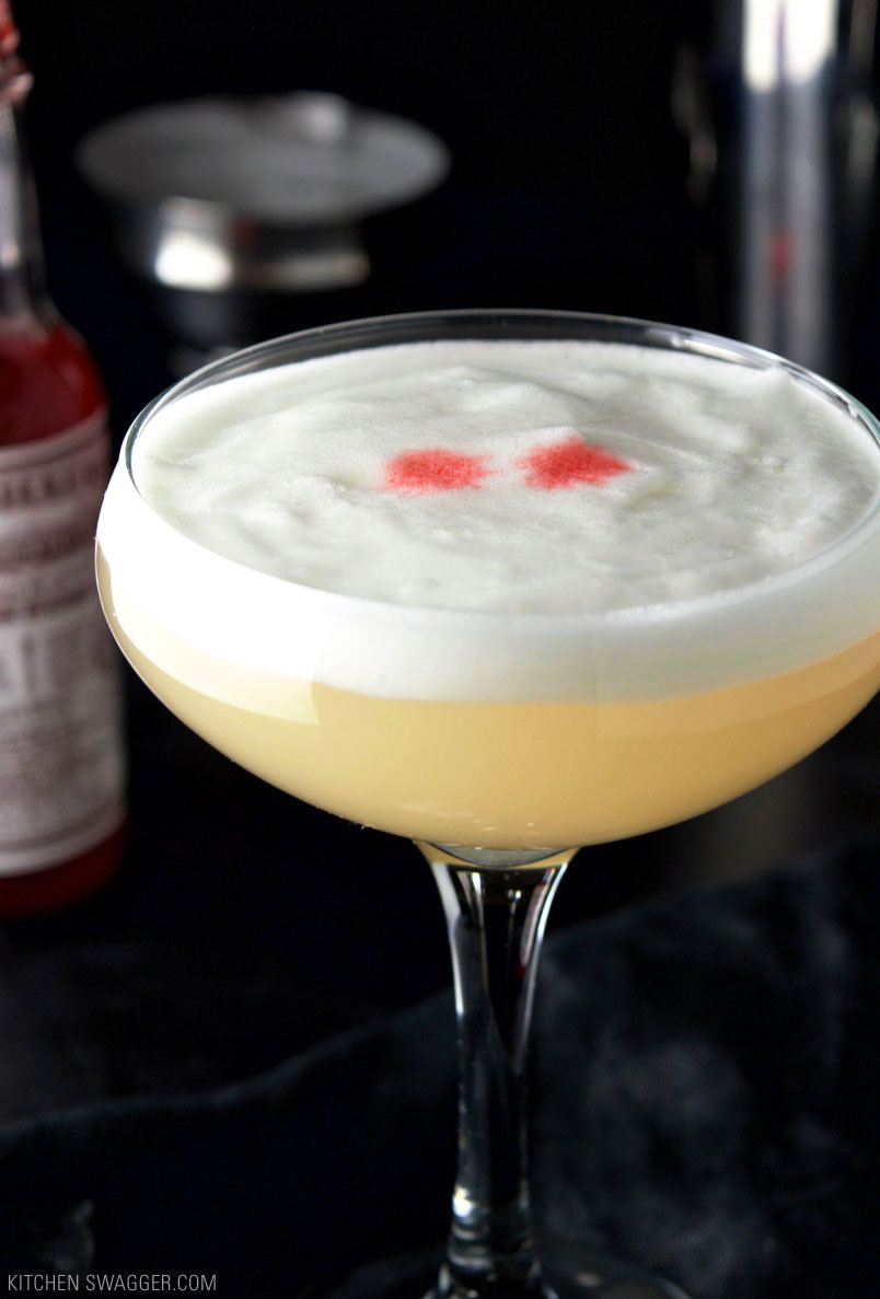 Bohemian Cocktail with Elderflower Foam Recipe