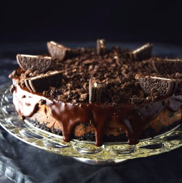"<span class=""entry-title-primary"">Chocolate Oreo Cheesecake Recipe</span> <span class=""entry-subtitle"">A rich and simple dark chocolate cheesecake with a serious Oreo twist.</span>"