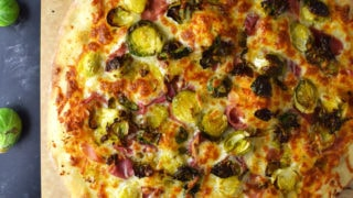 Brussel Sprout Pizza Recipe