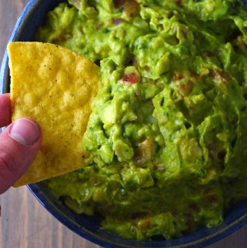 "<span class=""entry-title-primary"">Ultimate Guacamole Recipe</span> <span class=""entry-subtitle"">Authentic guacamole with a subtle spicy kick and a profound lime twist.</span>"