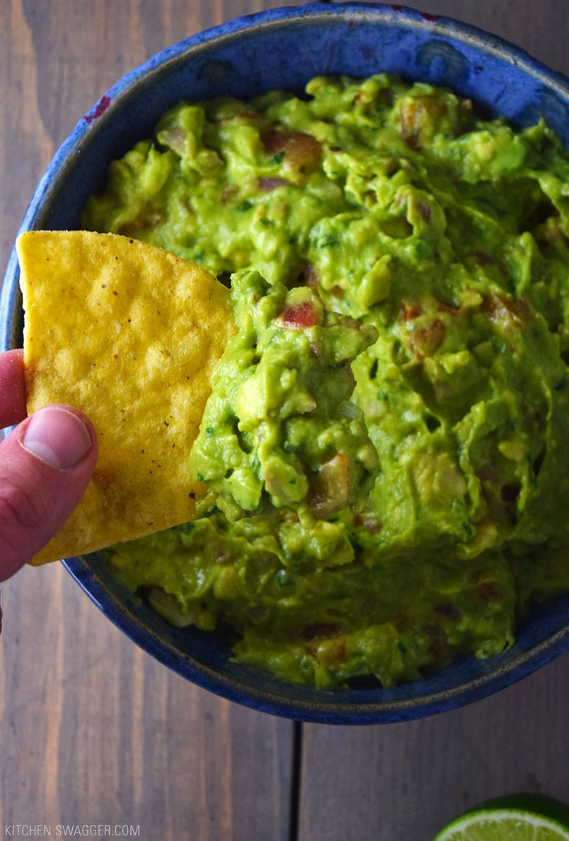 The Ultimate Authentic Guacamole Recipe