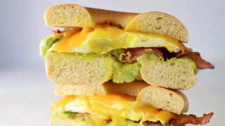 Bacon Egg and Avocado Breakfast Sandwich Recipe