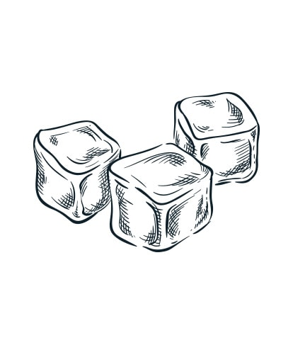 Ice cubes sketch