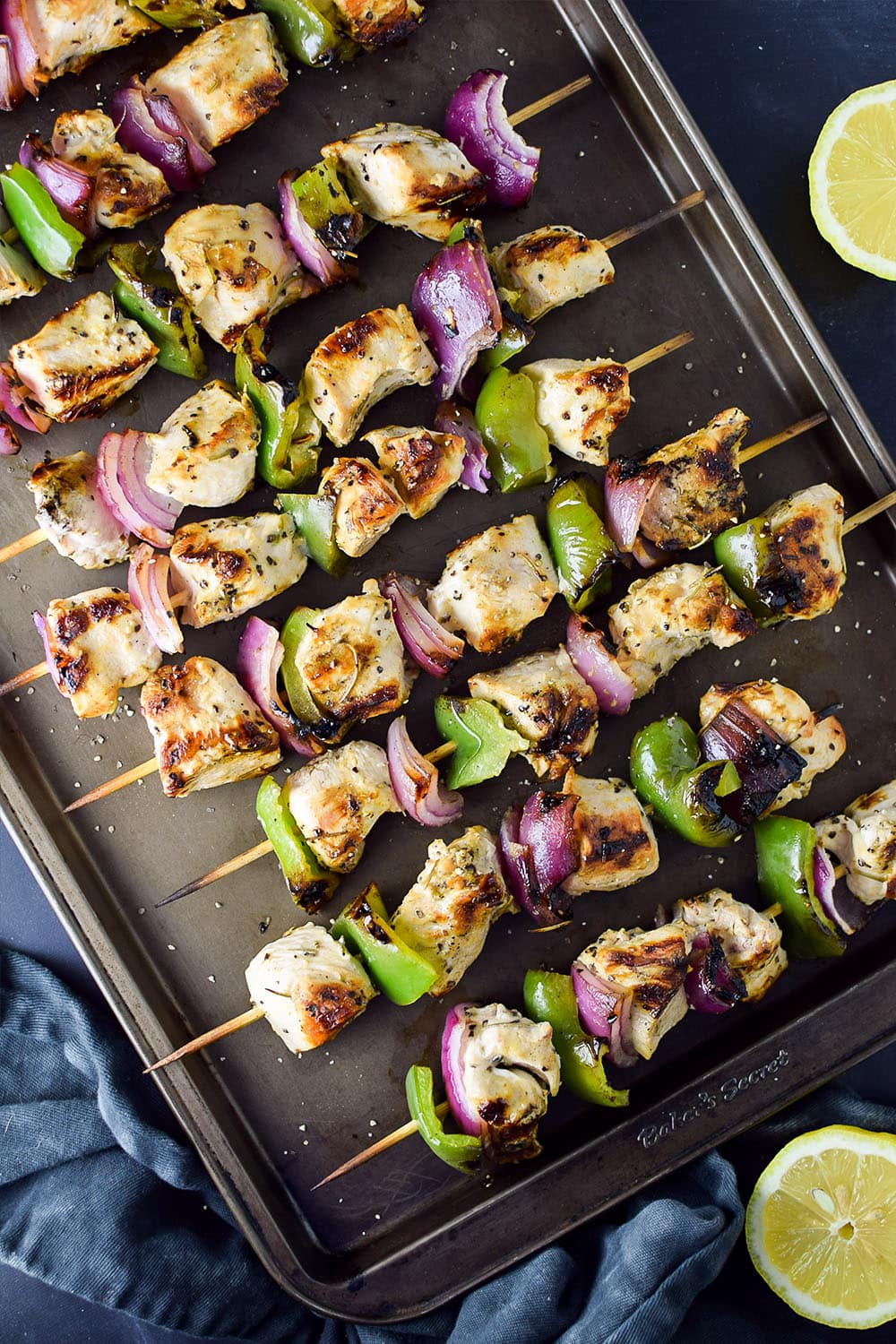 Grilled Lemon Pepper Chicken Kebab Recipe