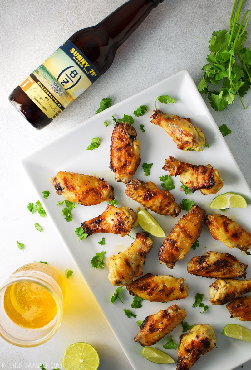 Tequila Lime Chicken Wings Recipe