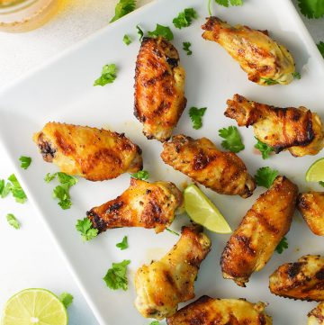 Tequila (Pilsner) Lime Chicken Wings Recipe