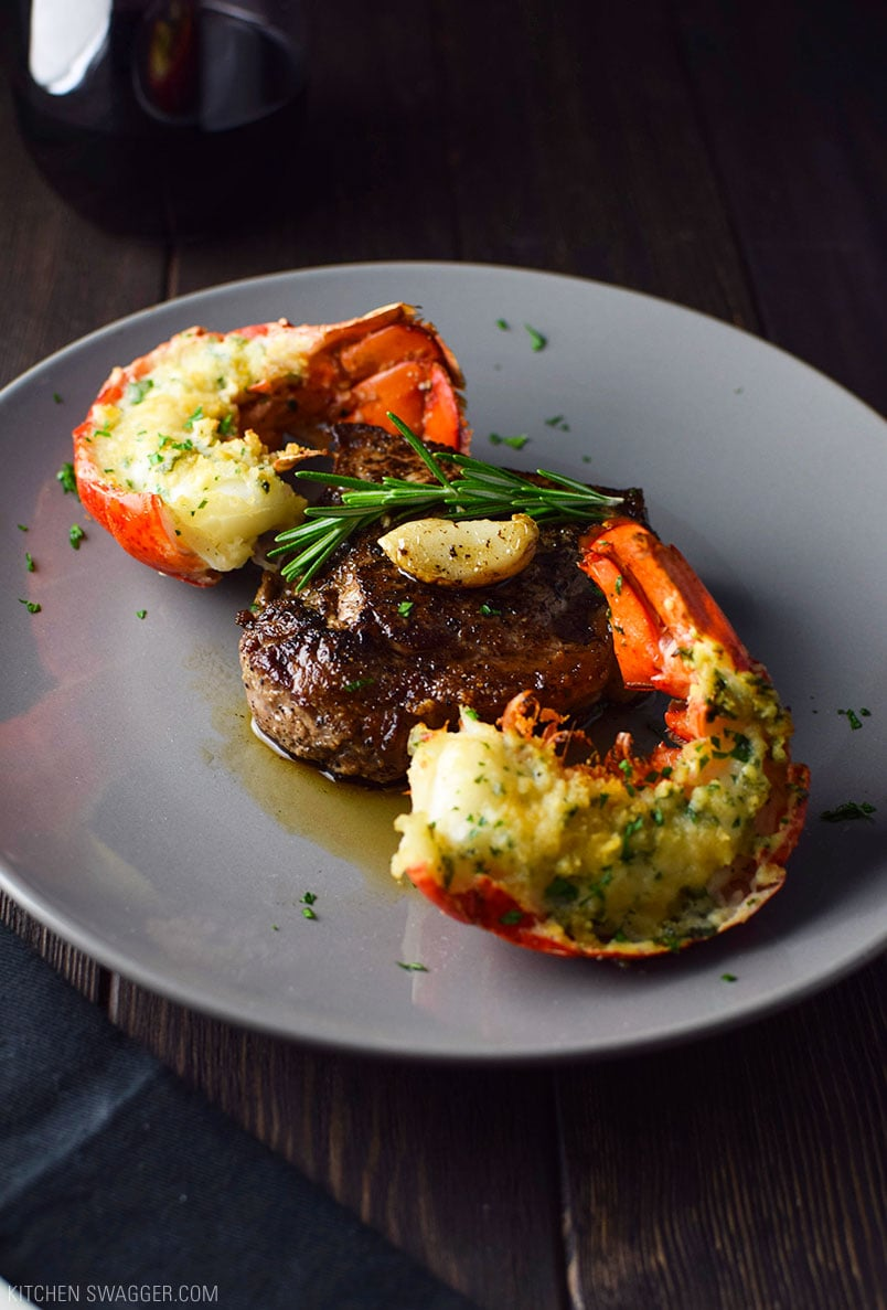 Surf En Turf >> Easy Surf And Turf For Two Recipe Kitchen Swagger