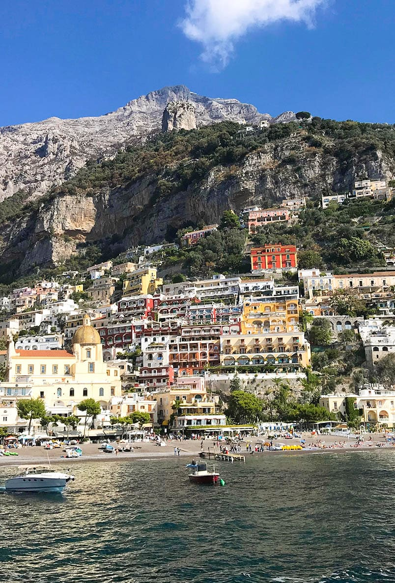 Positano in Amalfi Coast
